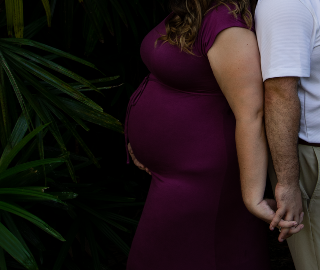 Bok Tower Gardens Maternity Photography