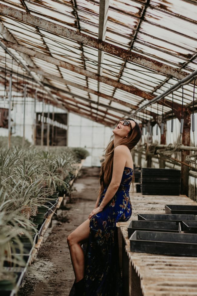 Greenhouse Fashion Photography