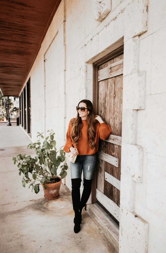Fall-inspired Winter Park Fashion Session